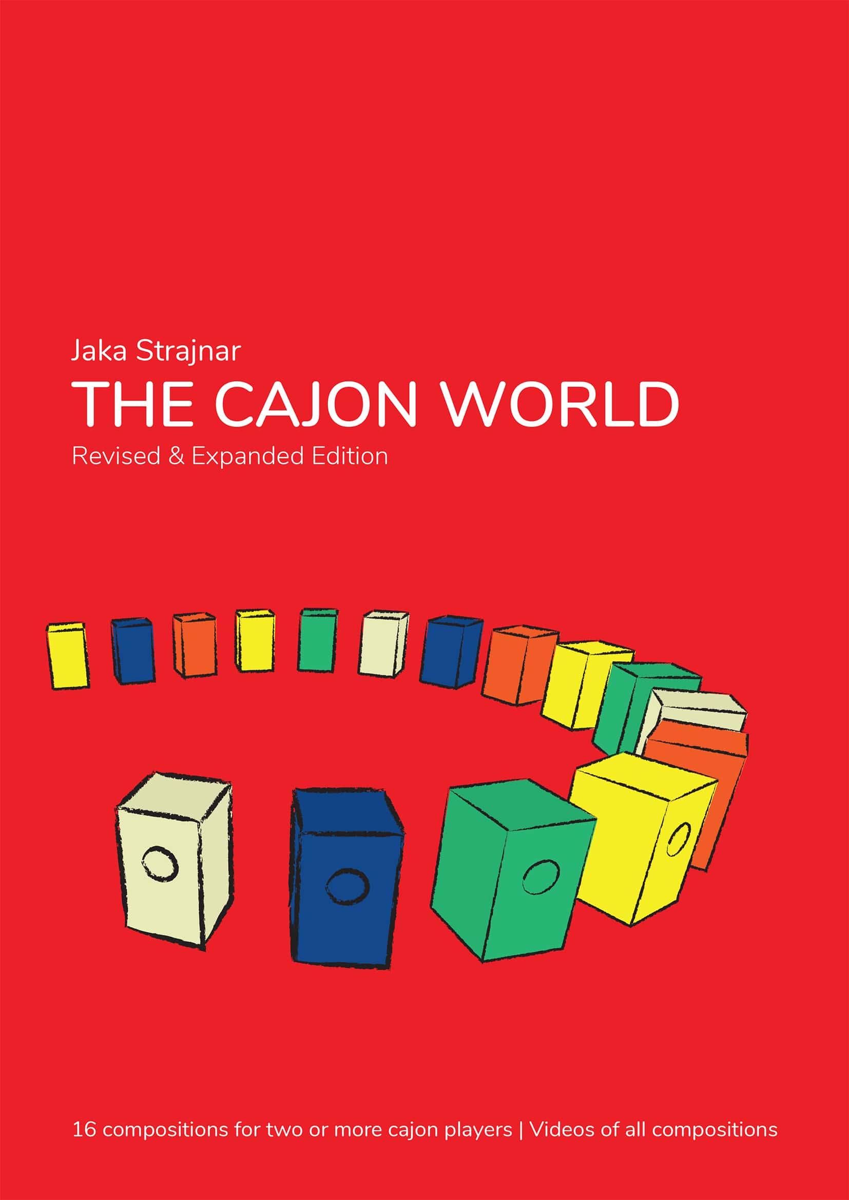 The cajon world-zbirka skladb za dva ali več cajonov